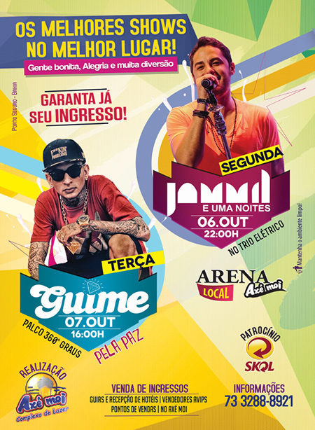 Panfleto Show Jammil+Guime 06.07Out
